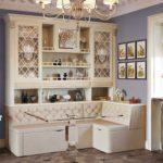 Шкафы для посуды из МДФ