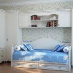 Белая мебель прованс для детской комнаты