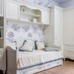 Белый комплект детской мебели на заказ