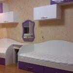 Две белые кровати в детскую